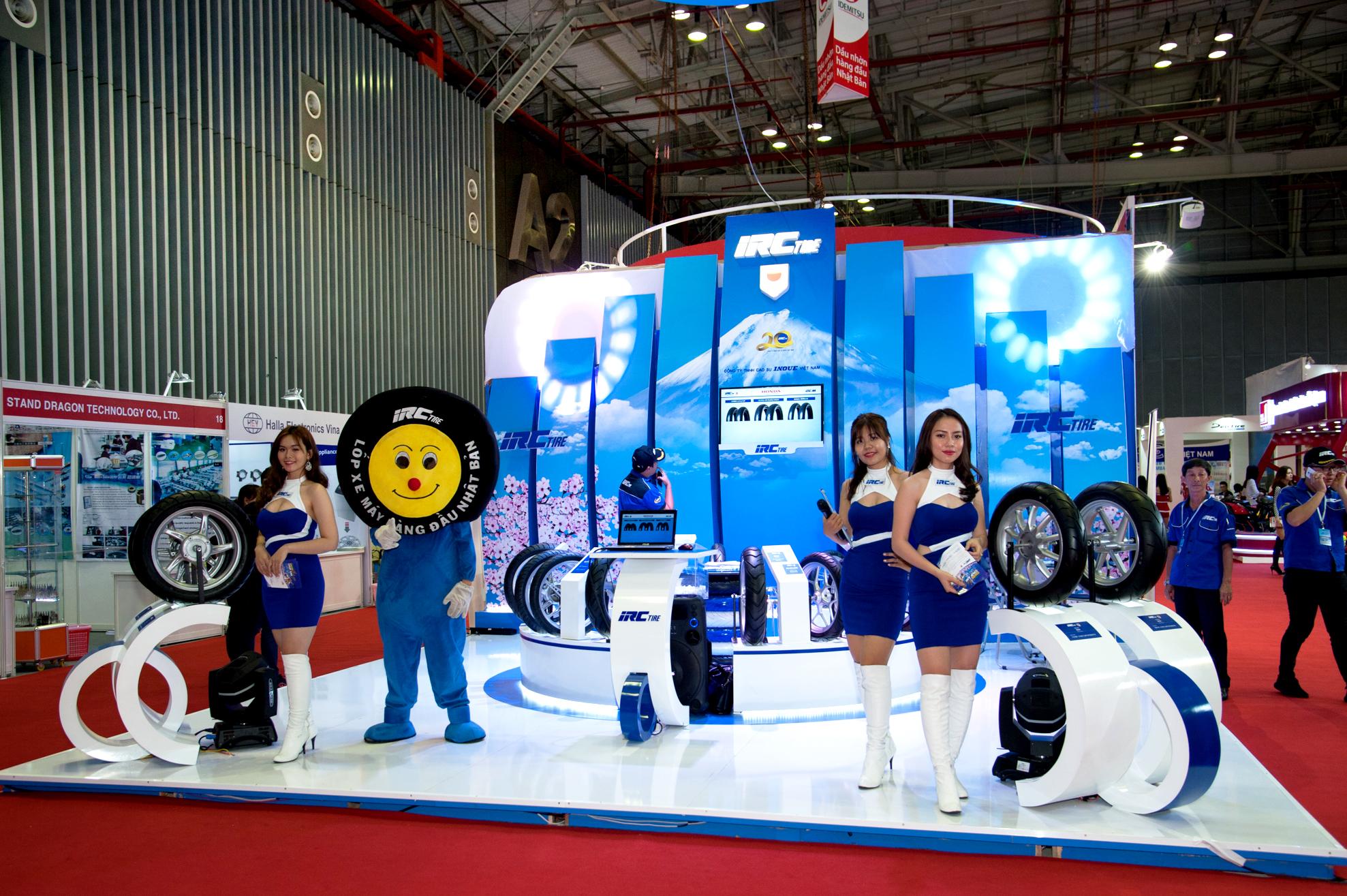 IRC Việt Nam ra mắt các dòng lốp đặc biệt dành cho xe máy