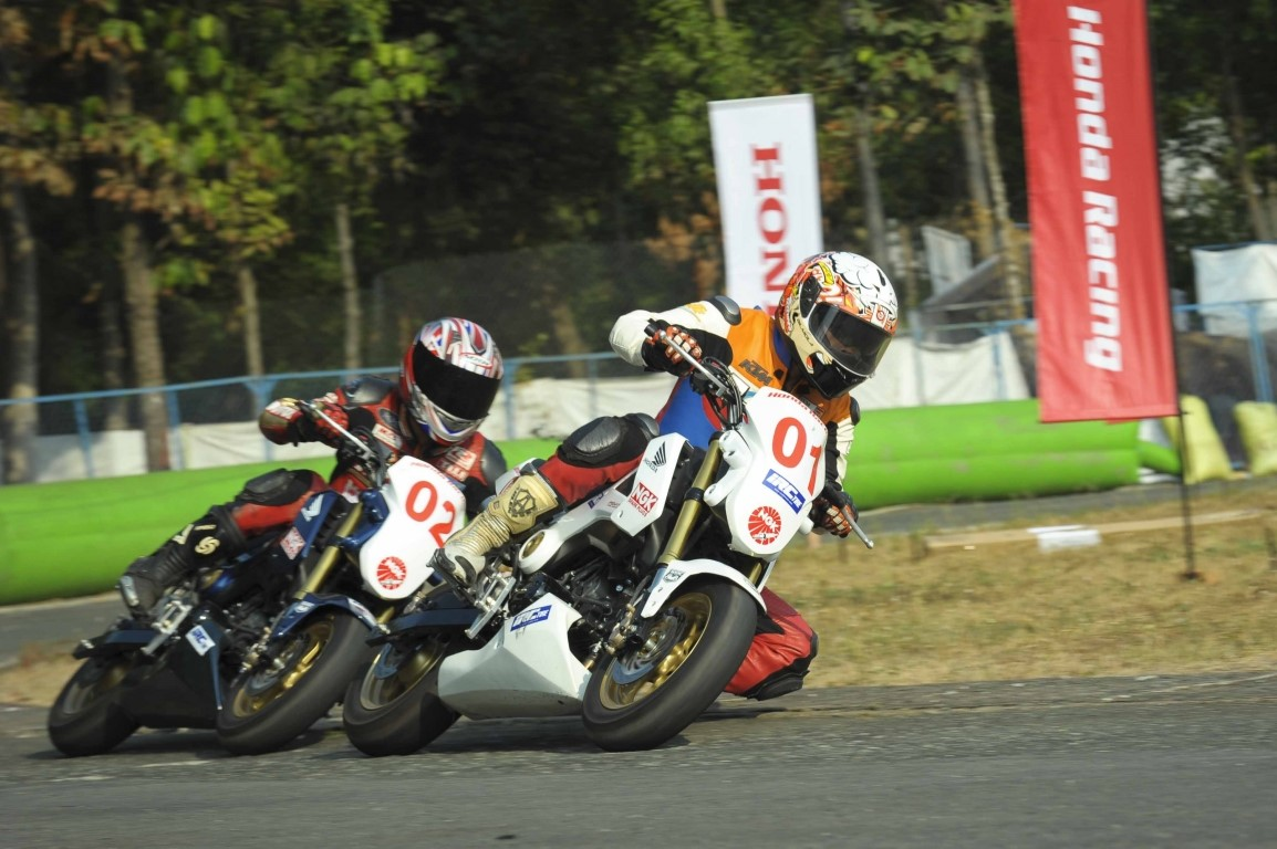 """IRC Việt Nam """"chia tay năm cũ và đón xuân mới"""" cùng Honda Racing 2016 tháng 12 tại tỉnh Bình Dương."""